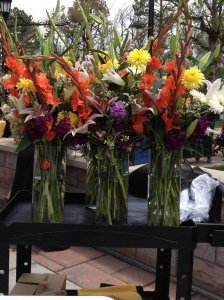 flowers for the reception