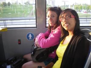 Amairani & I on the bus! © Amairani Alamillo