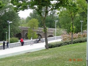 El Puente Romano!