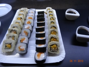 ...even more sushi!