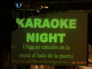Karaoke Night Wednesday!