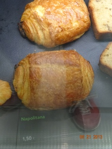 Napolitana (pastry, not an ice cream flavor)!