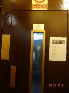 elevator, boo yeah!