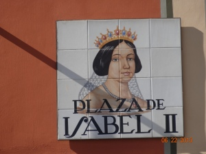 the Plaza Isabel II