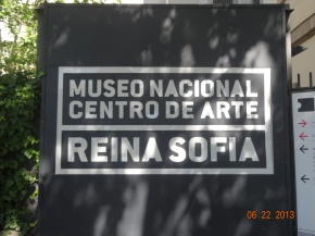 Day 30 in España – ¡Museo Reina Sofia and el Teatro Reina Victoria!