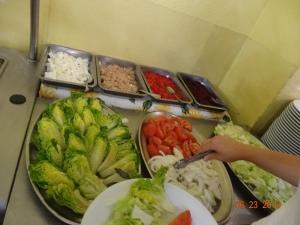 salad bar, anyone?