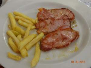 pork and fries