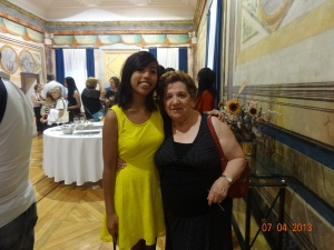 Pilar (my host mom) and I