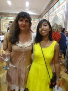 Pamela and I