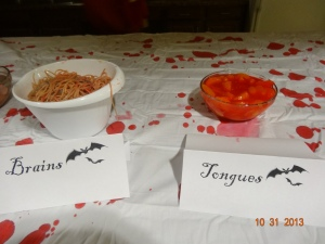 "bowls 2 and 3: ""tongue"" and ""brains"""