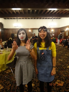 Mime (me) + Minion (Elle)