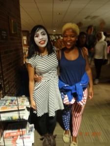 Trina and I
