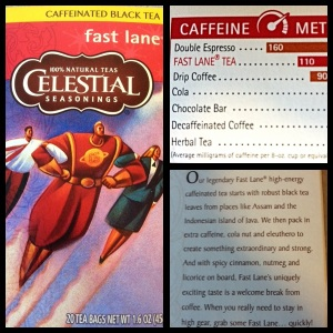 Celestial Seasonings Fast Lane Caffeinated Black Tea