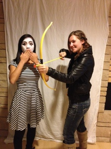 Mime and Katniss Everdeen