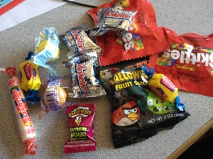 my candy bag stash