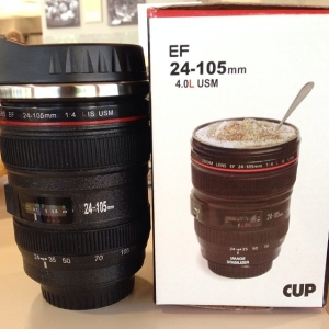 Camera Lens coffee/tea mug!