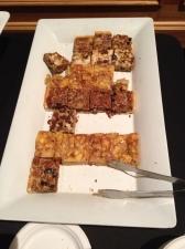 assorted fresh-baked desserts, platter 1