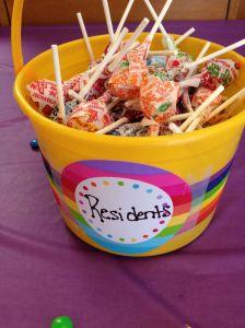 (Residents) ...Lollipops!