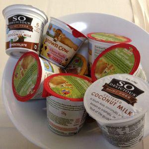 assorted yogurt