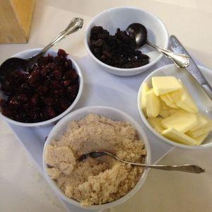 oatmeal/quinoa toppings