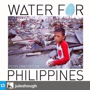 Social Media was a big help in getting monetary donations to the Philippines