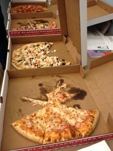 pizza slices!