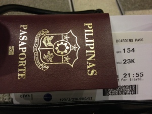 got my boarding pass!