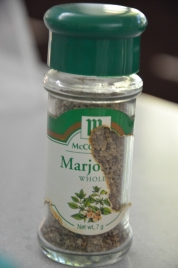 Marjoram (clearly well-loved)