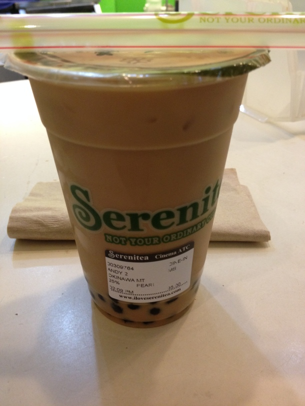 Serenitea bubble tea!