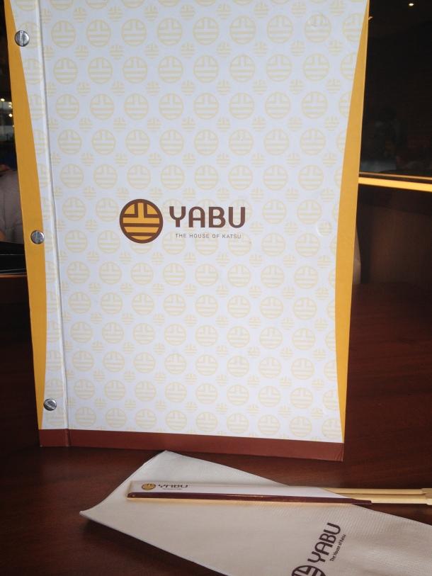 Yabu menu