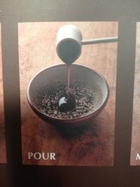 2. Pour