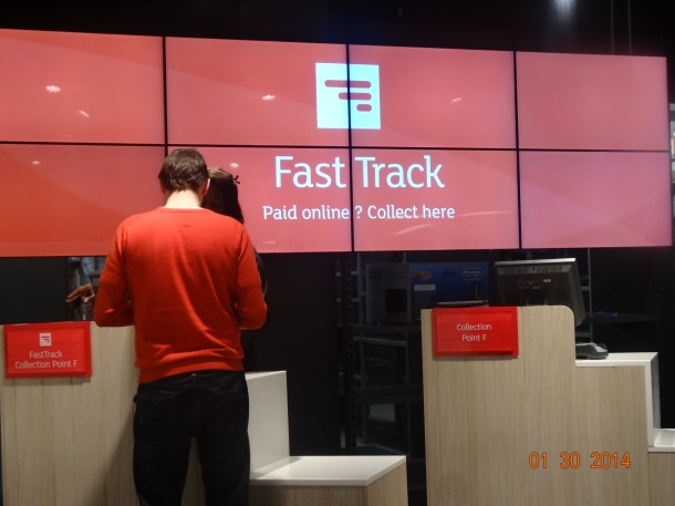 Fast Track - for online purchases