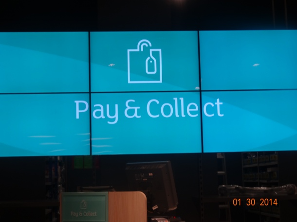 Pay & Collect - for in-store purchases