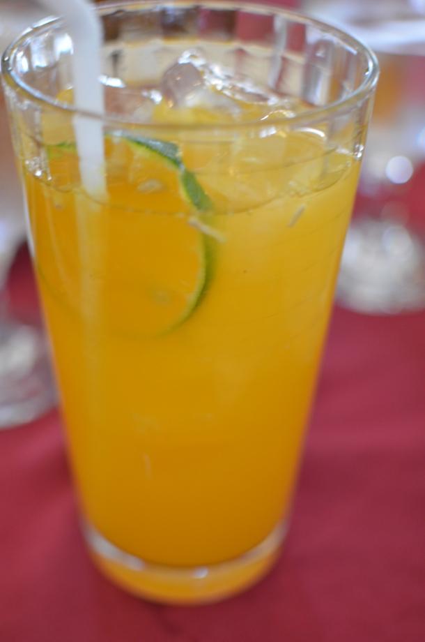 fresh dalandan juice