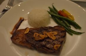 Dinner at Masseto
