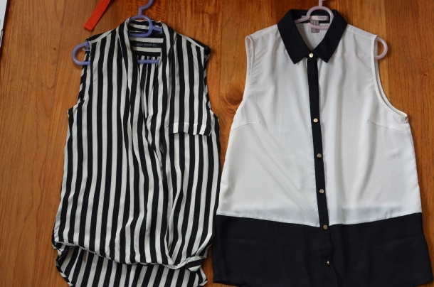 2 black and white tops1