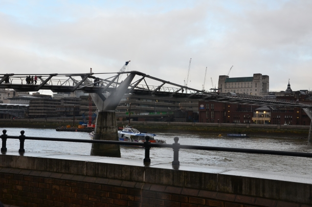 Millennium Bridge (aka Wobbly Bridge)