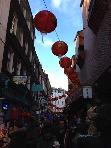 red paper lanterns!