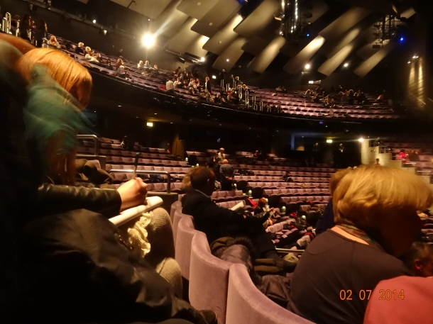 the theatre seats