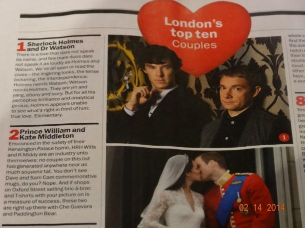 London's #1 Couple!