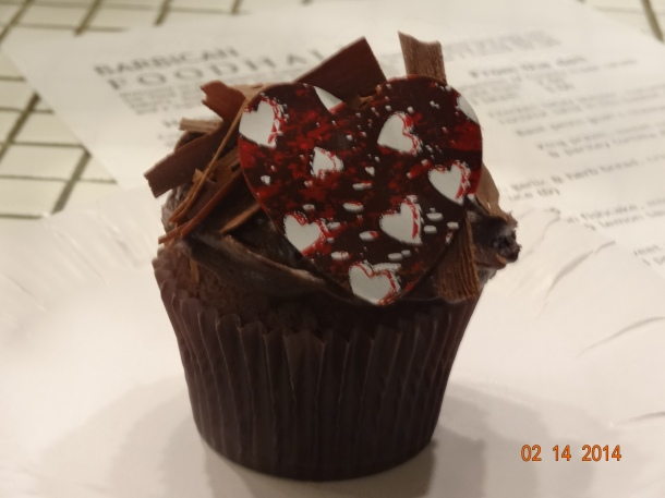 AMAZING chocolate cupcake for £2.00