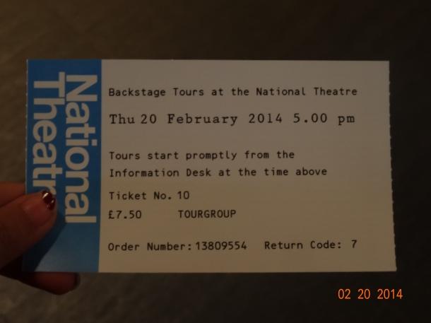 tour ticket