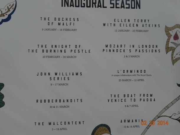 Inaugural Season