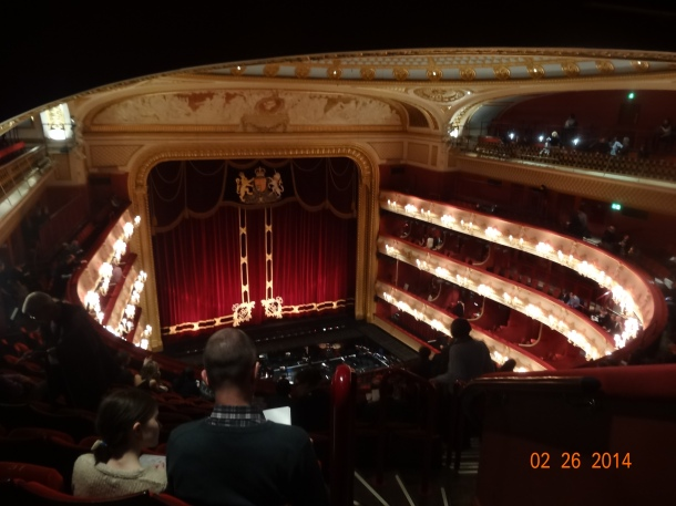 the Royal Opera House!