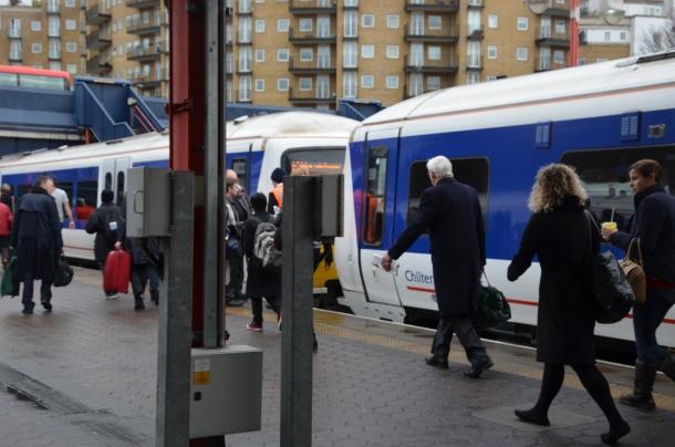 train to Stratford!