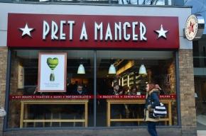 Lunch at Pret aManger