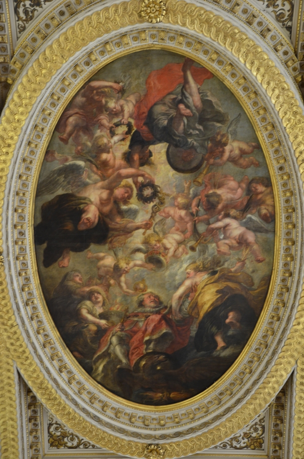 "Rubens, ""The Apotheosis of James I"""