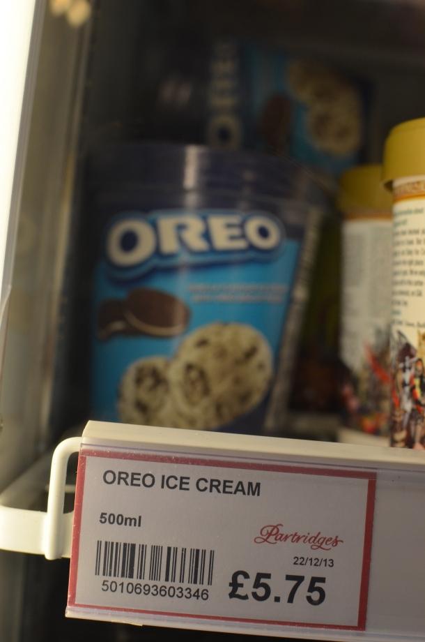 Oreo ice cream? Yum!