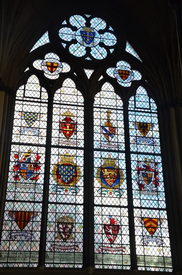 Chapel House stained glass windows