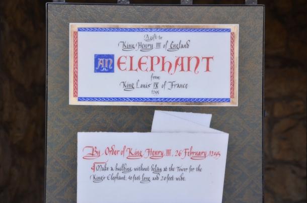 elephant statue description